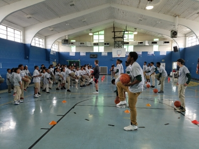 The New Orleans Pelicans Junior Training Camp Comes to Rosenwald