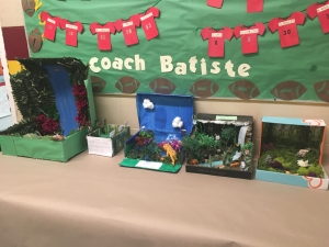 Upper Pointe Coupee Fourth Graders Create Biomes