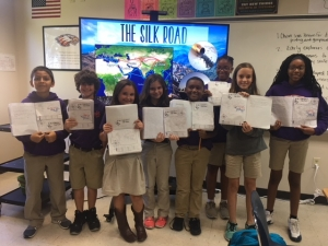 SMA Students Discuss Early Explorers