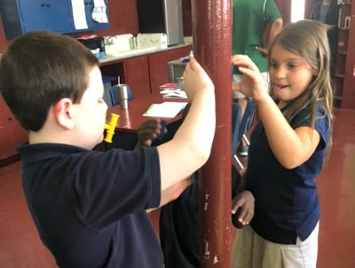 Opposites Attract as Students at Rougon Learn about Magnetism