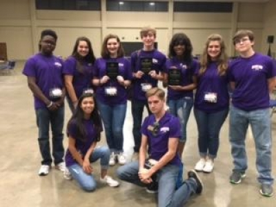 Beta Students at STEM Magnet Academy of Pointe Coupee Attend 2017-2018 Leadership Conference