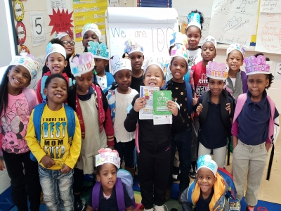 Ms. Dawn Richard's Kindergarten Class Celebrates 100 Steps