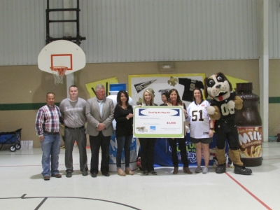 Valverda's Fuel up to Play 60 Pep Rally