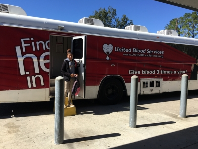 LHS Students Participate in Blood Drive