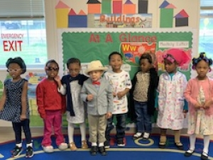 Rosenwald Celebrates its 100th Day of School