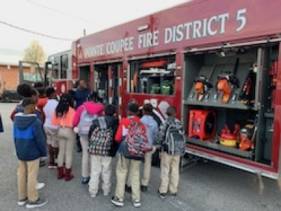 Rosenwald Elementary Studies Fire Safety