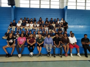Rosenwald Parents Get Physically Fit