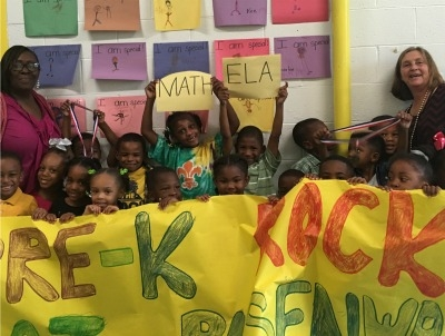 Pre-K Teacher at Rosenwald Receives Award