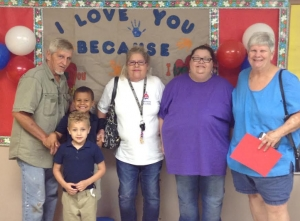 "UPCE Pre-K Host ""Grandparents Day"""