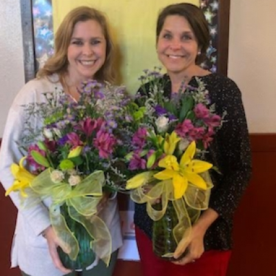 Rougon Names Elisa Clare Babin and Jamie Jarreau as Teachers of the Year