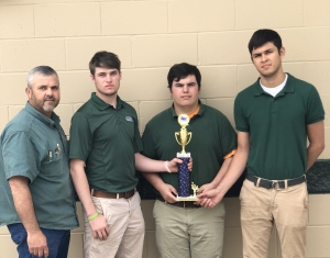 Livonia High School Welding Team Exhibits Skill at High School Craft Competition