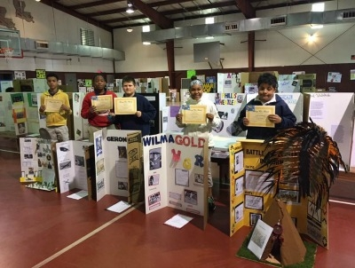 Rougon's Annual History Fair