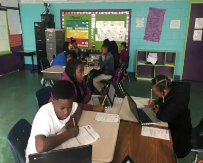 Rosenwald's Fourth Graders Learn About the American Revolution