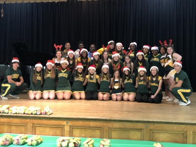LHS Wildcat Teams Share in the Spirit of the Season