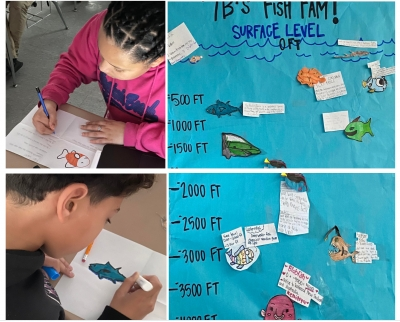 Rougon Middle Goes Fishing for Math Fun!
