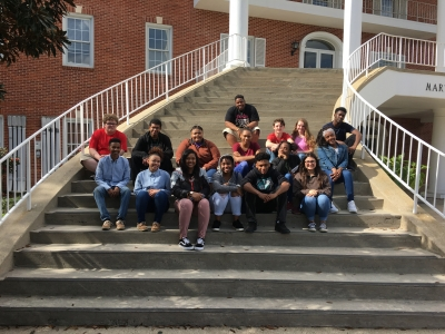 LHS Students Compete in District Literary Rally