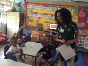 Ms. Doris Jones's Pre-K Students Learn About Safety