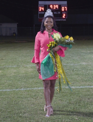 Brayanna Jones Crowned Homecoming Queen