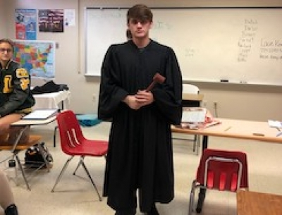 Criminal Justice Mock Trials at SMA