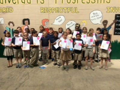 Second-Graders at Valverda Explore Publication Process