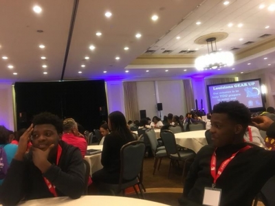 Livonia Students Attend La Gear Up Conference