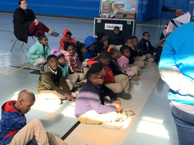 Rosenwald Receives a Visit From the Seed Survivor Unit